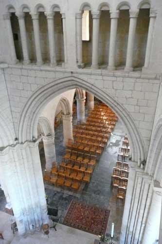 Intérieur de l'église de Verson