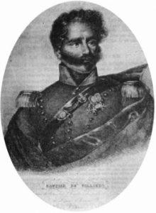 Portrait d'Edmée Louis Antoine Gautier de Villiers