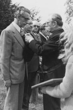 Emile Potel ancien maire de Verson