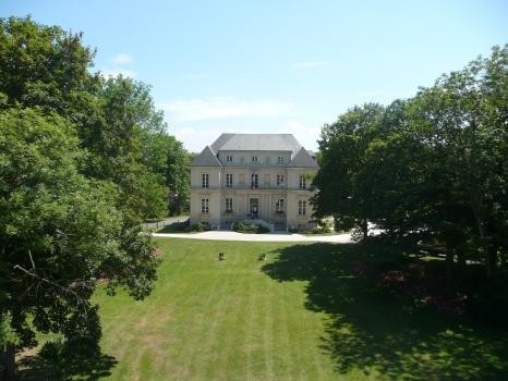 Mairie de Verson vue du ciel