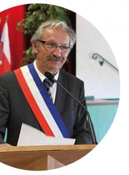 Michel Marie maire actuel de Verson