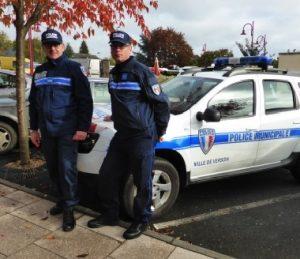 Policiers municipaux de Verson