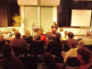Rencontre avec l'auteur Zeïna Abirached lors d'une des soirées Latitudes
