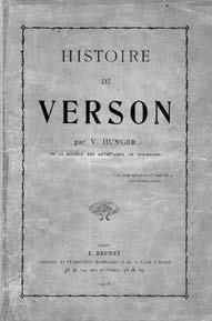 Livre Histoire de Verson par Victor Hunger